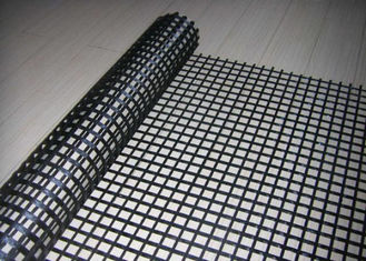 الصين fiberglass high-strength Geogrid لجسر, pp glass-fibre Geogrid المزود